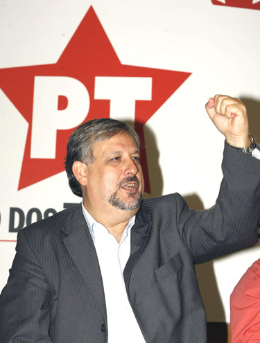 Ricardo Berzoini presidente nacional do PT