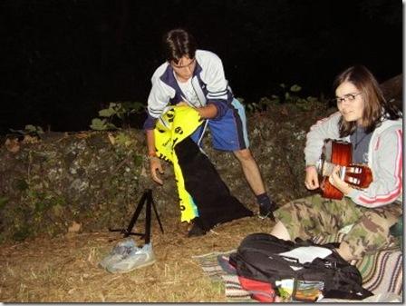 acampamento jovens